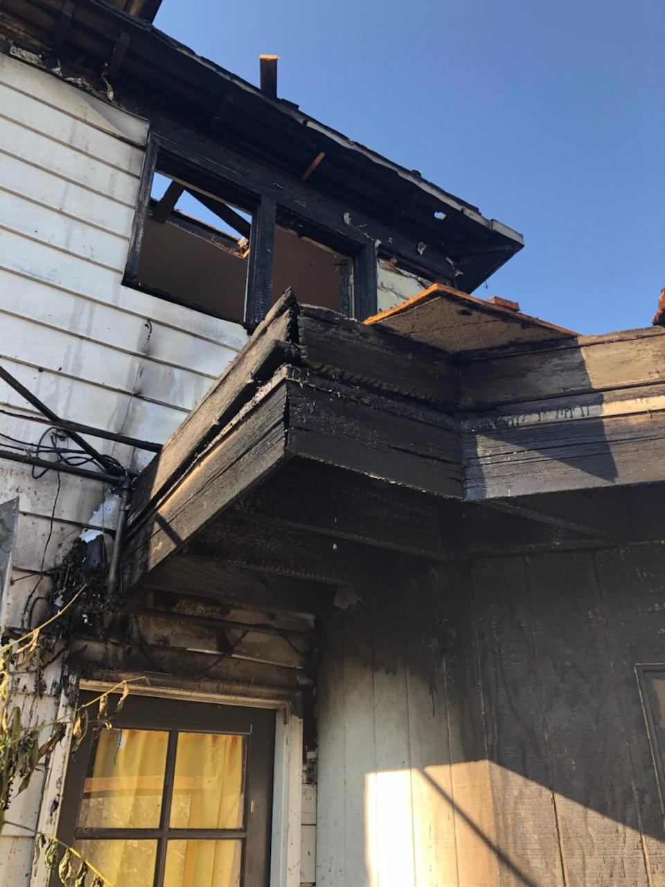Residential Structure Fire - 477 NE Winchester Street - 8-4-19 (Photo) featured image